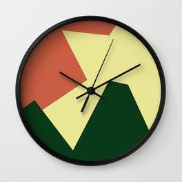 Minimalism Abstract Colors #18 Wall Clock