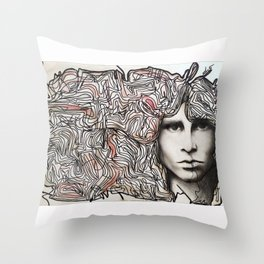 Cerebral freedom (Ode to JDM) Throw Pillow