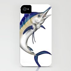 Blue Marlin iPhone (4, 4s) Slim Case