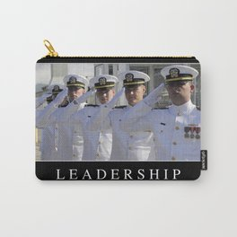 Leadership: Inspirational Quote and Motivational Poster Carry-All Pouch
