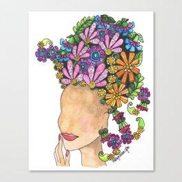 Glamour Canvas Print