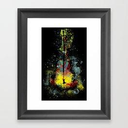 midnight symphony Framed Art Print