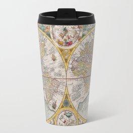 Vintage World Atlas Travel Mug