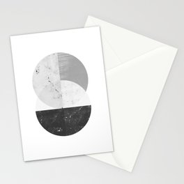 Abstract Circle  Stationery Cards