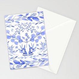 Indigo Scene Stationery Cards