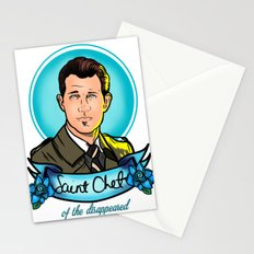 Saint Chet of the Disappeared Stationery Cards