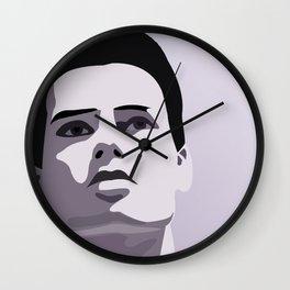 Model Man A (Purple Hue) II Wall Clock