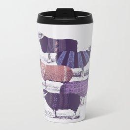 Cool Sweaters Metal Travel Mug