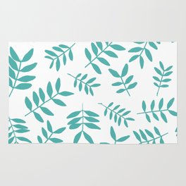 Background with branch silhouettes. Rug