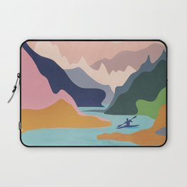 River Canyon Kayaking Laptop Sleeve