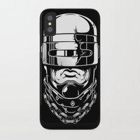 robocop iPhone & iPod Cases featuring Hey, Robocop! by OneAppleInBox