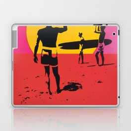 California Summer Surf from The Endless Waves Laptop & iPad Skin