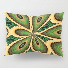 Victorious peacock Pillow Sham