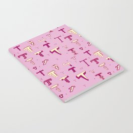 Letter Patterns, Part T Notebook