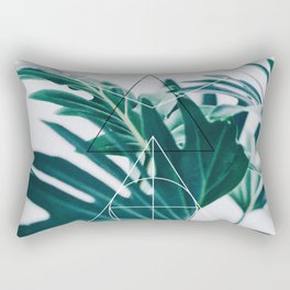 Botanic geometry Rectangular Pillow