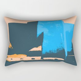 St Francis de Asis Take Three Rectangular Pillow