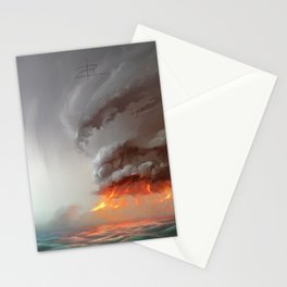 Hot Tower Stationery Cards