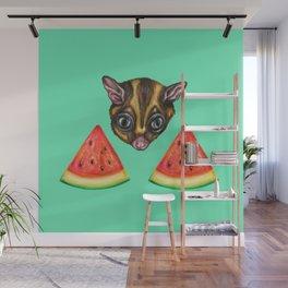 Sugarglider & Melons Wall Mural
