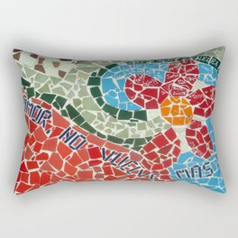 Muro de Amor Rectangular Pillow