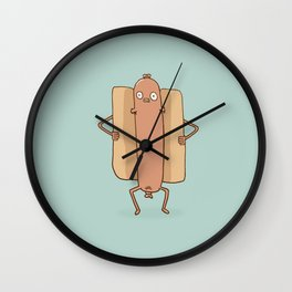 Hot Dong Wall Clock