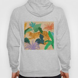 Sunbathing Amongt Plants Hoody