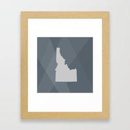 Idaho State Framed Art Print