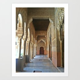 Alhambra Palace Art Print
