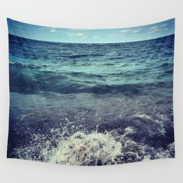 The Sea, She Speaks! Wall Tapestry