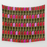 xoxo Wall Tapestries featuring XOXO by RCM Prints