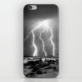 Raging-Brightness Lightning iPhone Skin