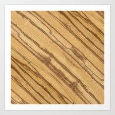Divida Wood Art Print