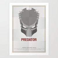 predator Art Prints featuring PREDATOR by Alejandro de Antonio Fernández