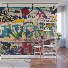 Urban Graffiti Paper Street Art Wall Mural