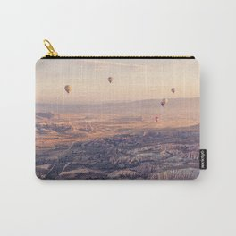 Sunrise Hot Air Balloon Flight Carry-All Pouch