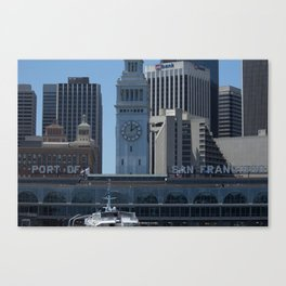 Port of Entry Canvas Print