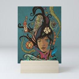 Wahine #4 Mini Art Print
