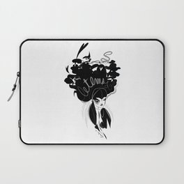 This head I hold - Emilie Record Laptop Sleeve