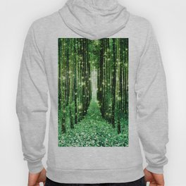 Magical Forest Green Elegance Hoody