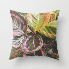Leafy Throw Pillow