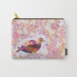 Lovely Little Dove Carry-All Pouch