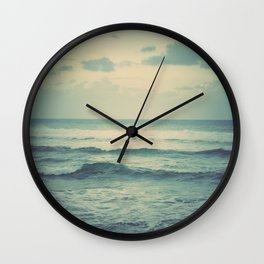 Evening Ocean Wall Clock