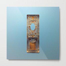 Paris Door No.000 Metal Print