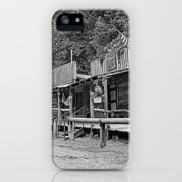 Row Of Merchants iPhone Case