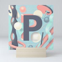Letter P Mini Art Print