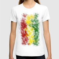 rasta T-shirts featuring Rasta Honu by Lonica Photography & Poly Designs