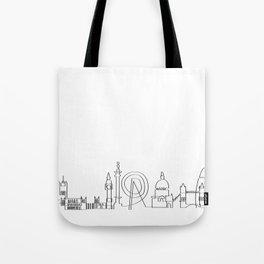 London Skyline Tote Bag