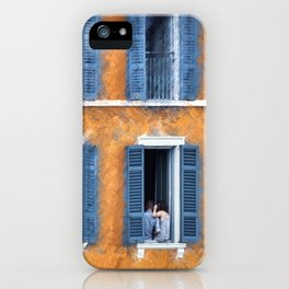 Look Through Any Window iPhone Case