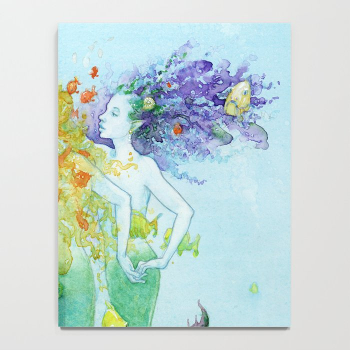 Three Mermaids Notebook