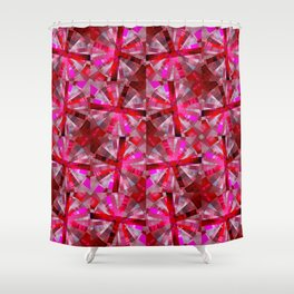 Ultimate Pink Pattern Shower Curtain