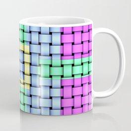 Beautiful Pastel Weave Texture Coffee Mug
